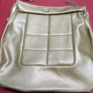 FORD-XR FAIRMONT CHAMPAGNE GREEN-LOWER FRONT SEAT COVER-NEW OLD STOCK