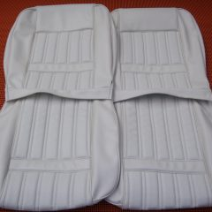 FORD 1971-XY FAIRMONT/GT-SEAT COVERS-WHITE-NEW