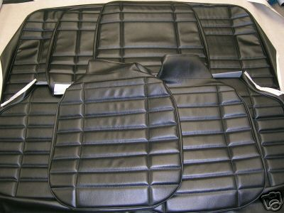 Holden Lc Torana Seat Covers Black Supertrim Coburg