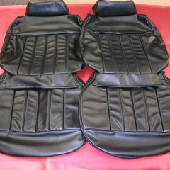 HOLDEN-HQ-LS MONARO-BLACK SEAT COVERS