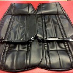 FORD-XB FAIRMONT/GT FRONT SEAT COVERS-BLACK-NEW