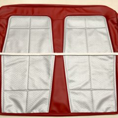 HOLDEN-EK SPECIAL-RED AND SILVER SEAT COVER SET-NEW