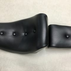 TWO-PIECE MOTOR-BIKE SEAT