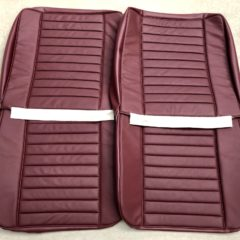 HOLDEN-EH PREMIER-SEAT COVER SET-FRONTS ONLY-DARK RED